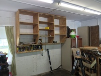 New Garage Shelves