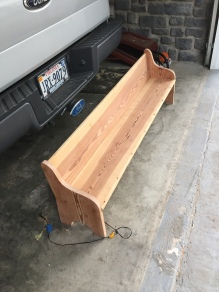 Built a Children's Pew